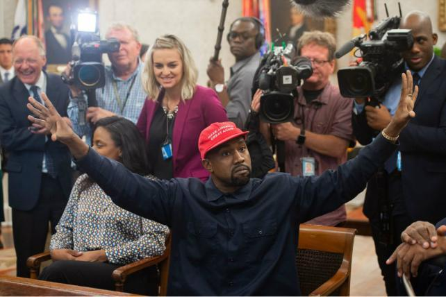 Friday Wake-Up Call: Kanye West plugs Yeezy in the Oval Office, and Walmart makes an entertainment push