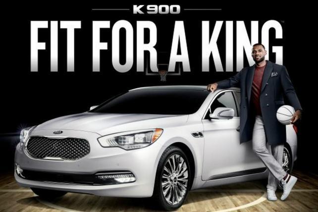 Kia Drafts LeBron James as a 'Luxury Ambassador'
