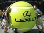 Lexus, With Some Help From Wii, Takes Center Court