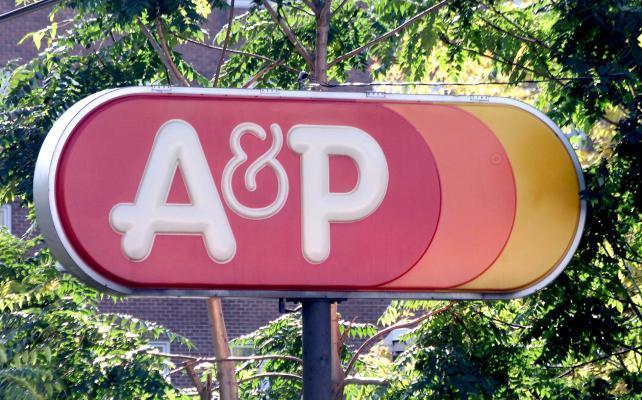 A&P's Customer Data, Social Accounts and Brand Assets Are Up for Sale