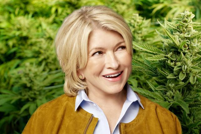 Martha Stewart is cooking up cannabis products for people and pets