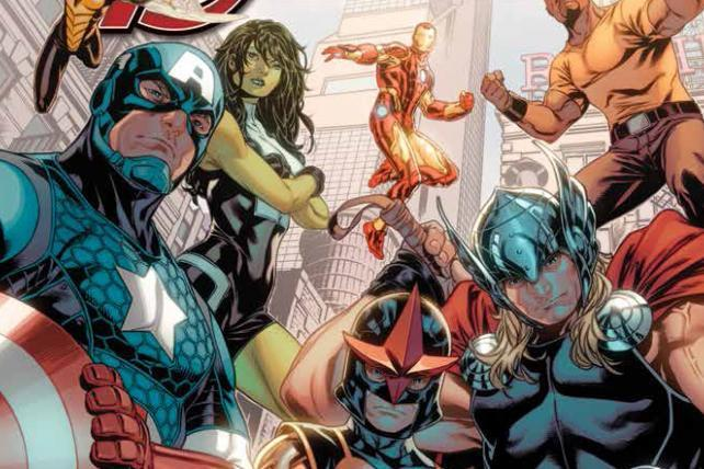BBDO Teams with Marvel on New Avengers Comic Book