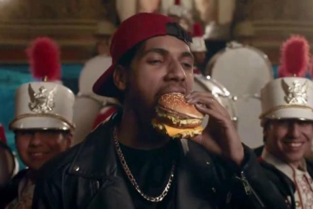 Beating the Drum for Big Mac's New Options: It's Last Night's Ads