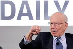 Rupert Murdoch Shows Off His New Baby: 'The Daily' Tablet Newspaper