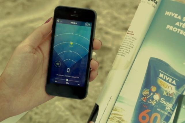 Nivea Ad That Turns into a Kid-Tracker Wins Mobile Grand Prix
