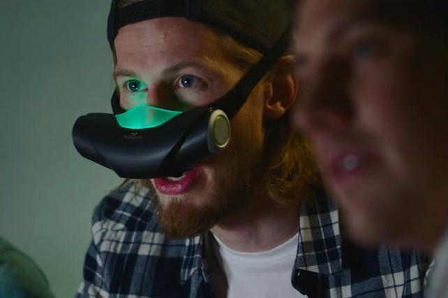 A Paris Ad Agency Made a Virtual-Reality Nose Mask That Emits a Fart Smell