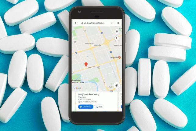 Google will show opioid disposal sites in maps searches