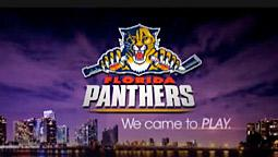 NHL's Panthers Take the Hockey Out of Advertising