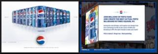 Pepsi Pours Wave of Websites From 35 Cans