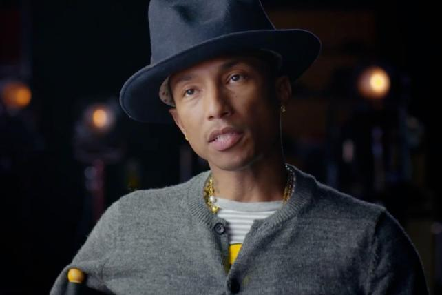 Pharrell Is Happy With the Apple Watch (That He Got Before You Did)