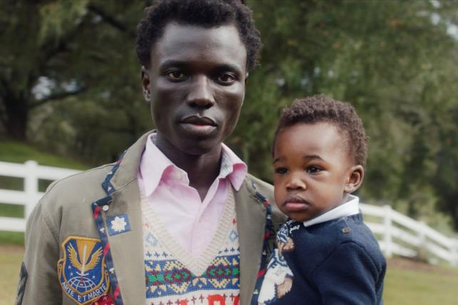 Ralph Lauren features a same-sex couple in a campaign for first time