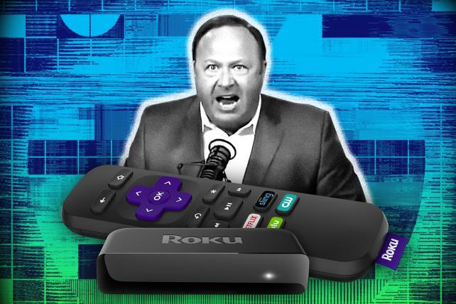 Roku pulls new Alex Jones and InfoWars channel after backlash