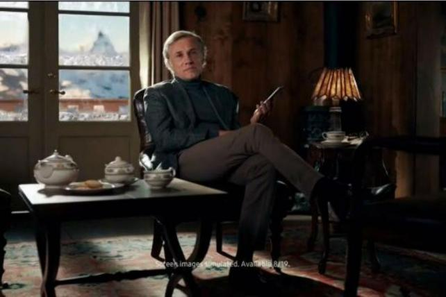Christoph Waltz Mocks Multi-Tasking Americans in New Samsung Ad