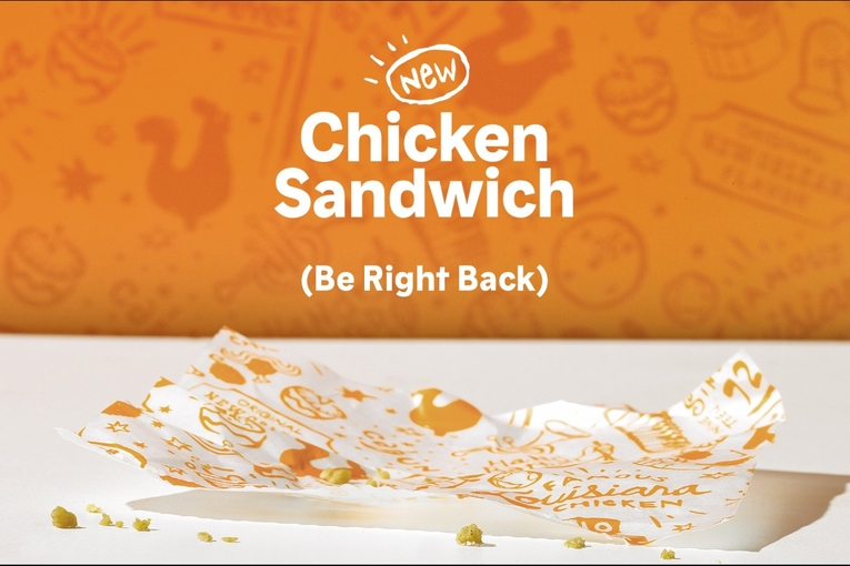 Popeyes is running out of chicken sandwiches, and it seems happy about it: Wednesday Wake-Up Call