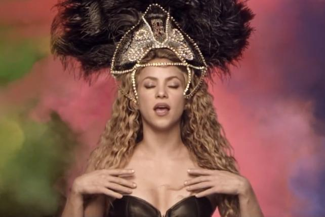 Shakira's Activia-Sponsored Music Video Vanquishes 'The Force' as Most-Shared Ad