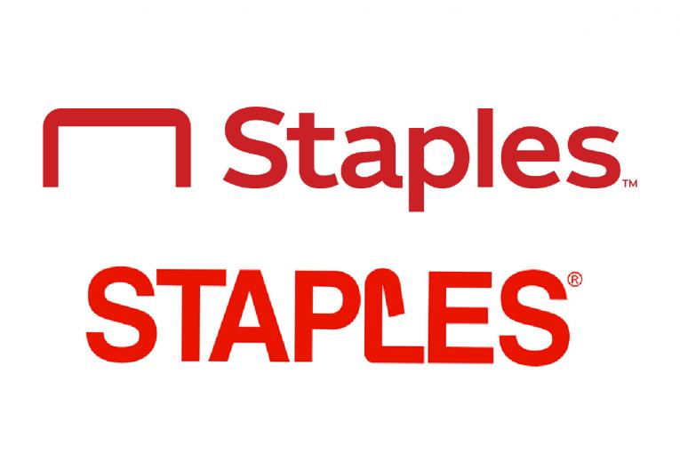 Staples' new logo cuts right to the chase