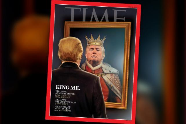 Time magazine jumps the gun with its King Trump cover