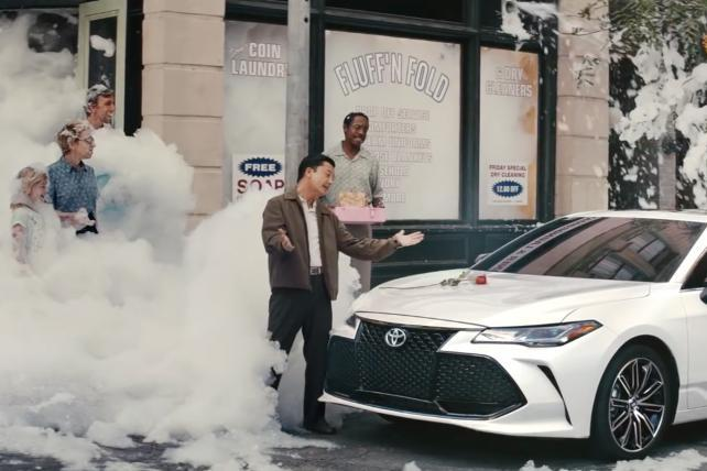 Watch the newest ads on TV from Toyota, Jif, Calvin Klein and more