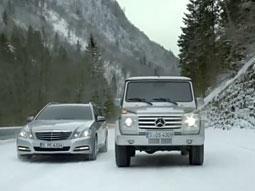 Formula One Stars Drive Mercedes Ad Onto Viral Chart