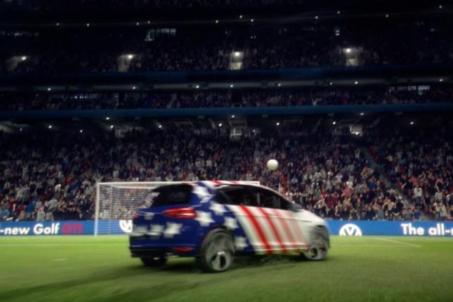 VW Scores In-Game World Cup Action With Web Play