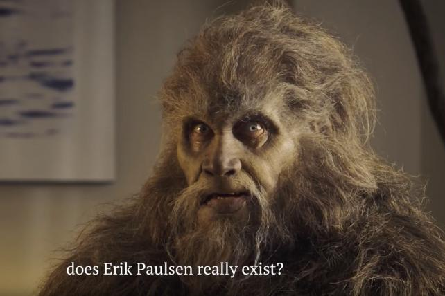 Bigfoot (really) is the star of this political attack ad