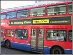 London Bus Ads Change as Locations Do