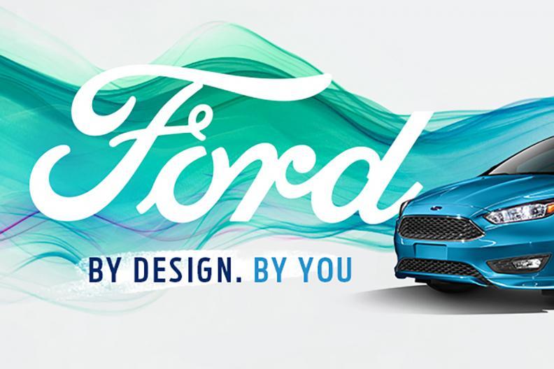 Ford billboard design — photo 2