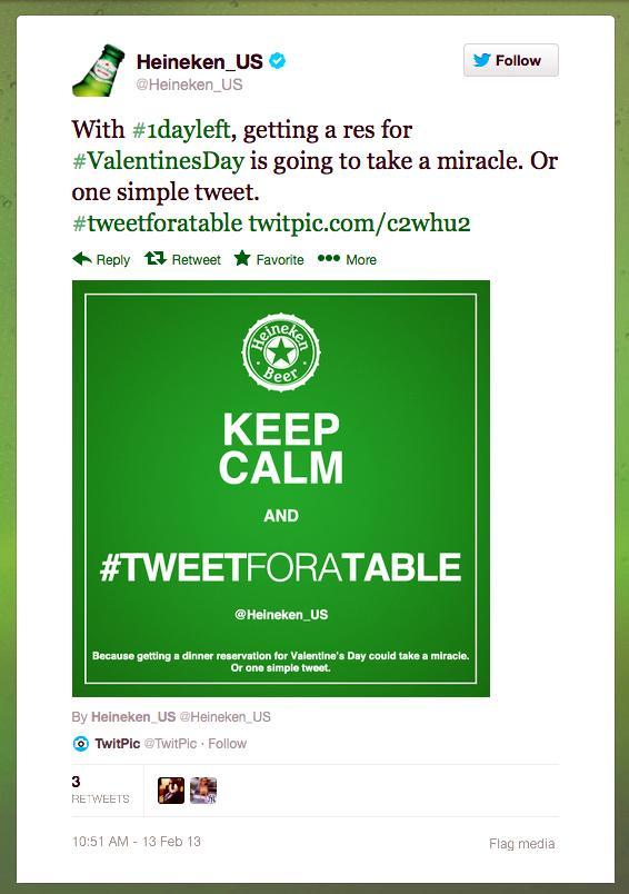 #TweetforaTable