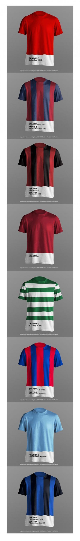 Pantone: Football Club Jerseys Pantone Makeover | AdAge