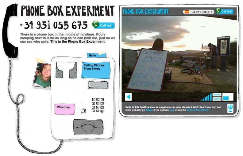 Skype : Phone Box Experiment | AdAge
