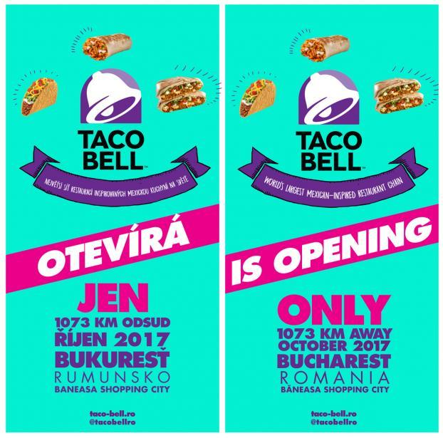 photograph regarding Taco Bell Printable Application named Taco Bell Romania : Had been opening the merely Taco Bell upon a