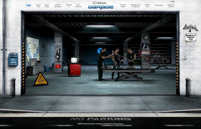 Allstate garage adage