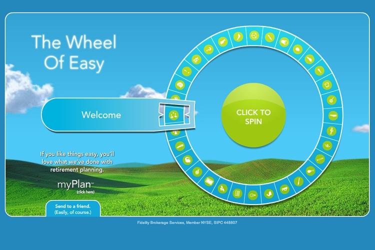 Fidelity Investments : The Wheel of Easy | AdAge