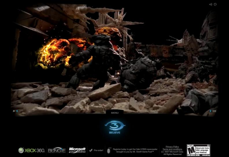 XBOX 360 : Halo 3 Believe   AdAge