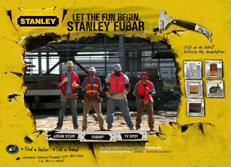 Construction site foursome