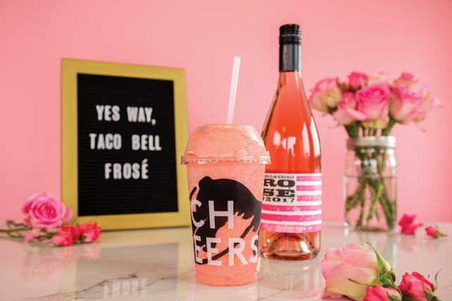 Want rosé? Skip Cannes and go to Taco Bell