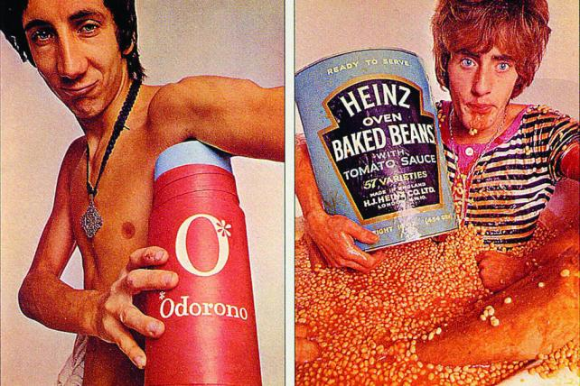 The Who Gets Remixed to Reach New Generation in Ads