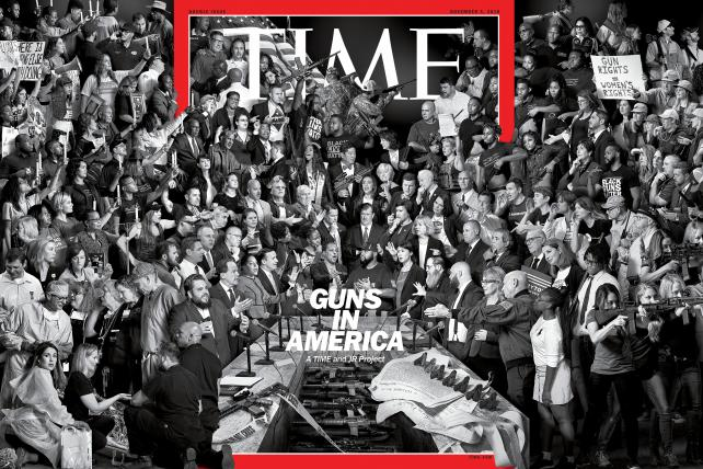 Time's 'Guns in America' cover took five months to make
