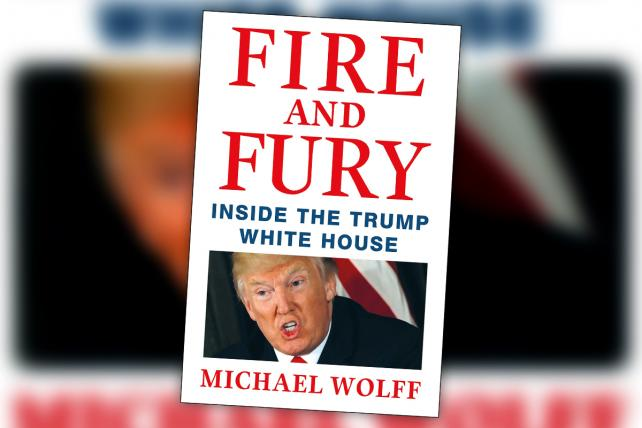 Trump Launches Marketing Campaign for Michael Wolff Book