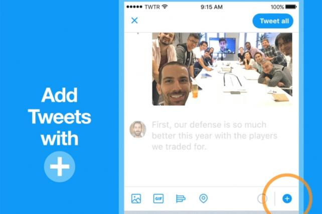 Twitter Makes Tweetstorms Easier With 'Threads'