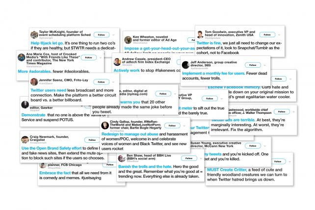 #FixIt! How to Save Twitter in 140 Ways