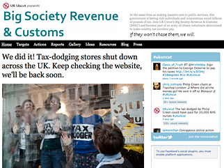 U.K. Activists Attack Vodafone, Topshop for Not Paying More Taxes