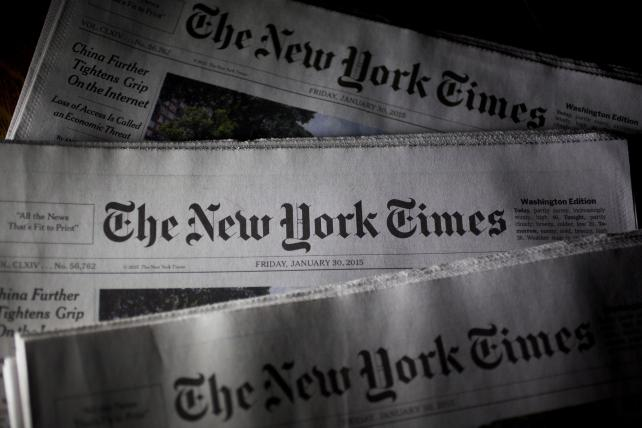#FailingNYTimes Feasts in Trump Era Amid Famine for Local Papers