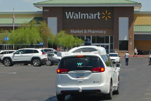 Phoenix-area residents can take a Waymo to Walmart