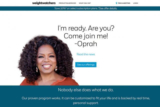 Weight Watchers Keeps Gaining (Because, Well, Oprah)