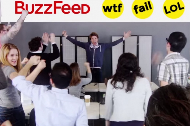 Jonah Peretti & Co. Get Owned: Watch the 'Wolf of BuzzFeed' Spoof Trailer