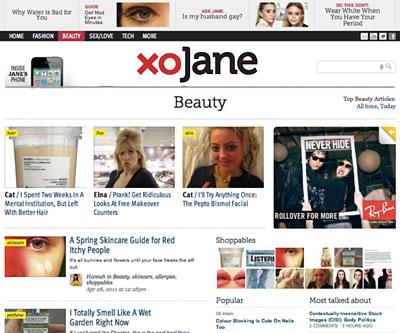 Love and Kisses, From Jane Pratt's New Website