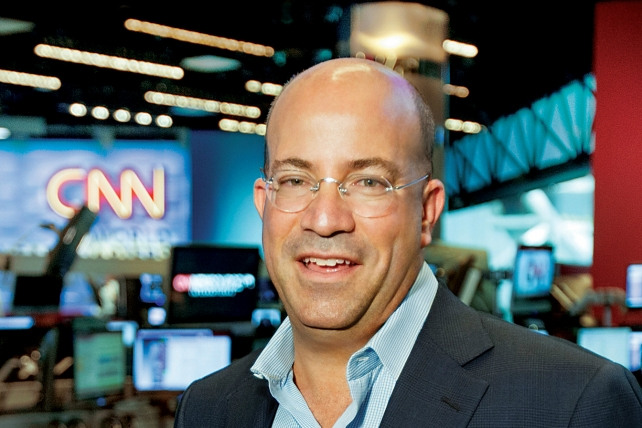 As Trump Tosses Darts at CNN, Jeff Zucker Enjoys Election Year